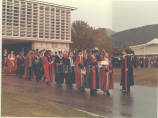 Installation of Rt. Hon. Sir Hugh Wooding as Chancellor of the University of the West Indies, 1971.
