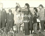 Crowning of Freshette and Freshman of year 1969