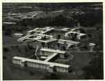 Aerial view of the University College of the West Indies campus, Mona, Jamaica