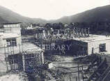 University College Hospital of the West Indies - Theatre block under construction, 1952.