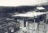 University College Hospital of the West Indies - Operating theatre block under construction, 1952