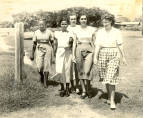 First undergraduate class of the University College of the West Indies 1948 --females