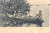 A Native Fishing Boat, Jamaica
