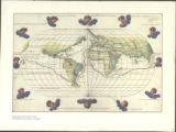 Agnese Map of The World CA_1544