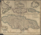 A New Map of The English Empire in The Ocean of America or West Indies