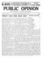 PUBLIC OPINION _Vol.1 _No.21_July 10,1937