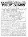 PUBLIC OPINION _Vol.1 _No.25_August 7,1937