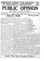 PUBLIC OPINION _Vol.1 _No.33_October 2,1937