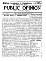 PUBLIC OPINION _Vol.1 _No.51_February 5,1938