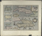 Cuba Insula [with] Hispaniola Insula [with] Insula Jamaica [with] Ins. S. Ioannis [with] I.S....