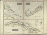Island of Cuba. (with) Chart of the Bahama Islands. (with) The Bermudas or Summer Islands. (Chart...