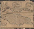A New Map of the English Empire in the Ocean of America or West Indies (Jamaica,Port Royal,...