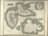 West India Islands ( Guadaloupe, Mariegalante &c., Antigua) Thomson's New General Atlas